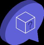 Nadenken over Blockchain icoon